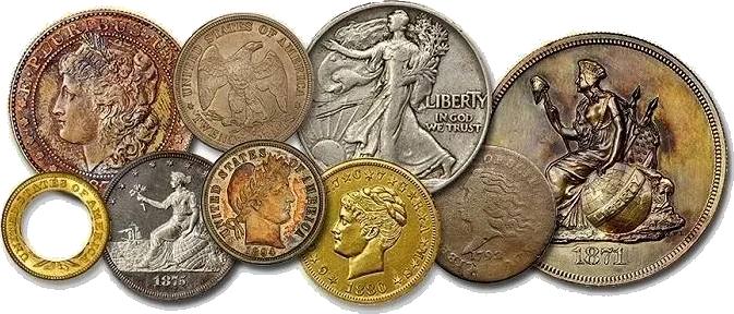 Unique Rare Coins